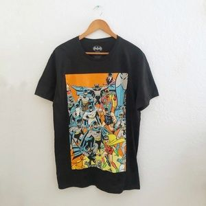 Batman • Cool Graphic T-Shirt with All Related DC